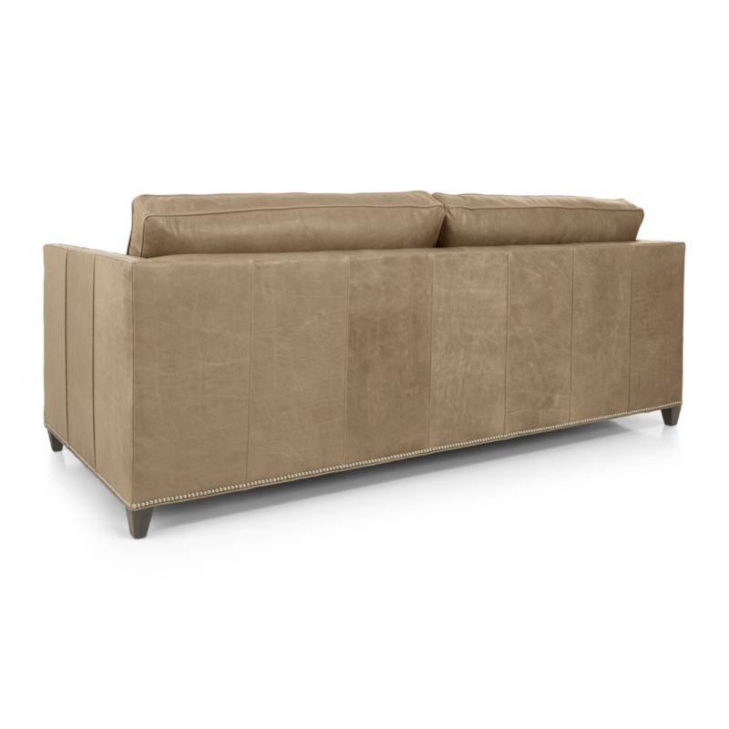 leather sleeper sofa with nailheads sofas clearance uk dryden queen products