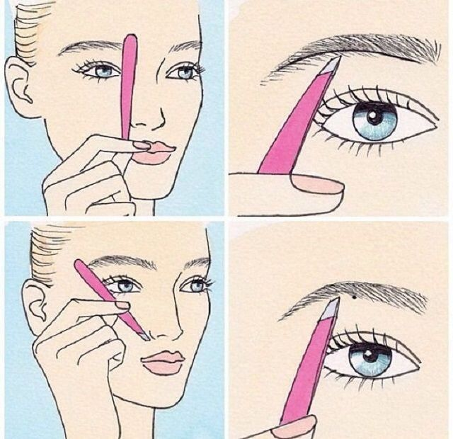 How to Shape Your Eyebrows - Step by Step Guide   Eyebrow ...