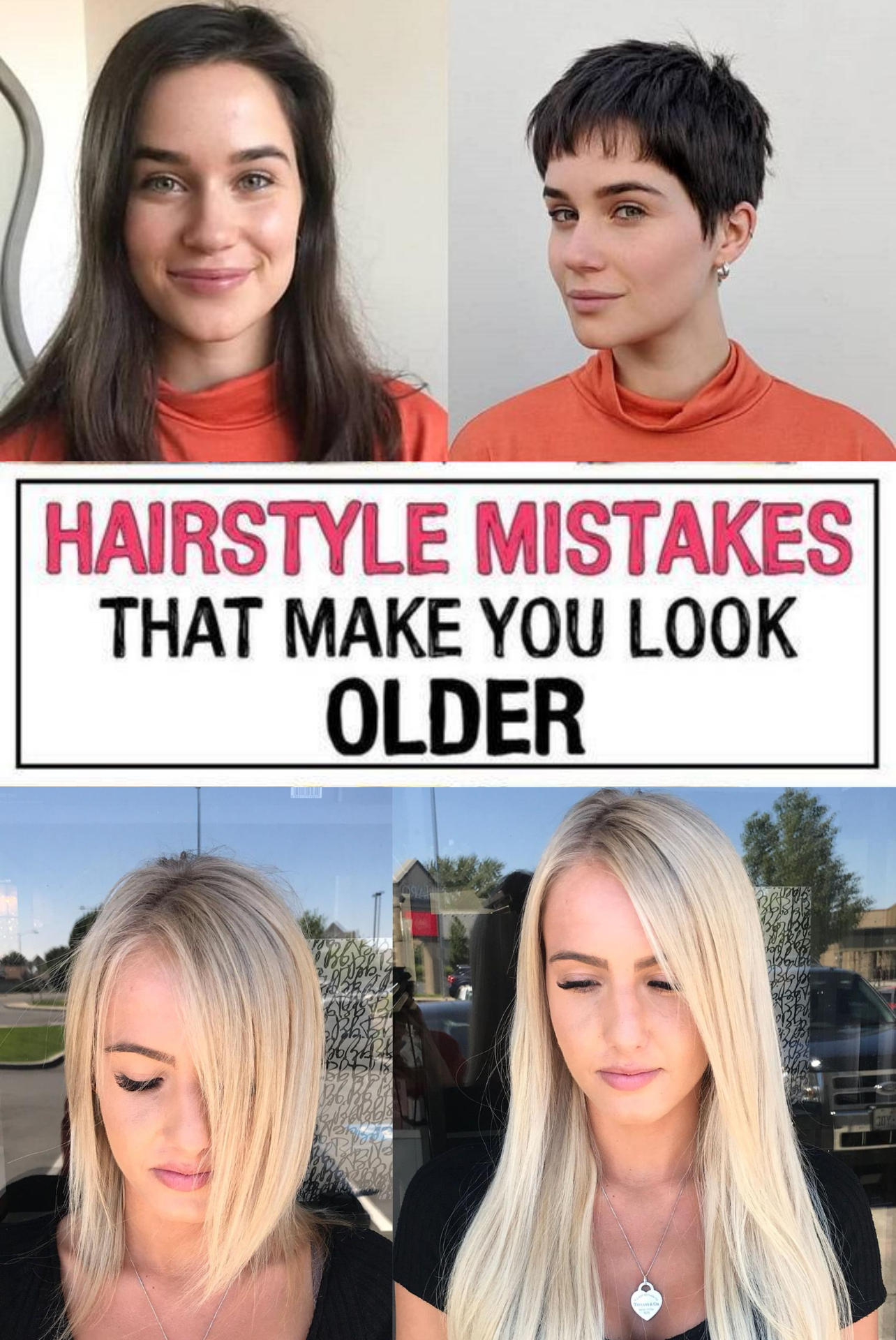 37 Hairstyle Mistakes That Are Aging You In 2020 Hairstyle Mom Hairstyles Hair Advice