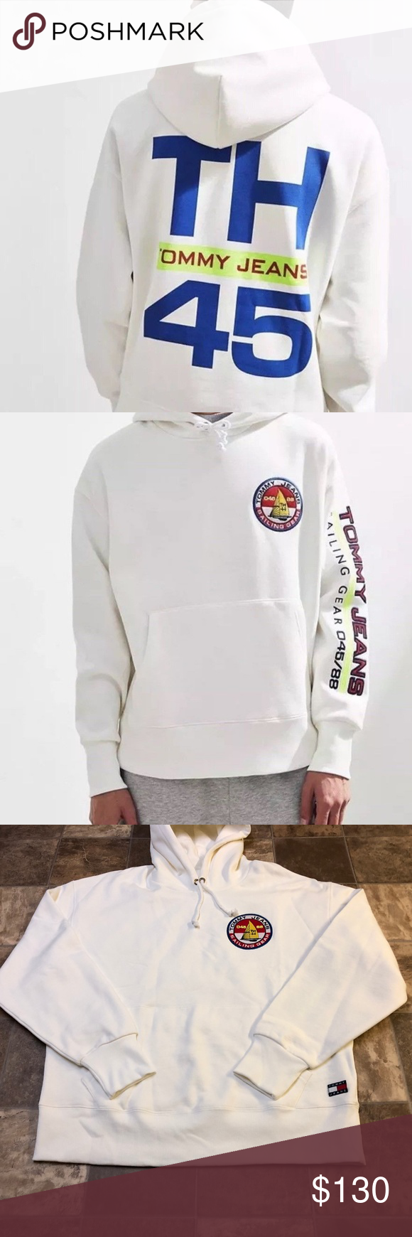 Tommy Hilfiger Capsule Collection Sailing Hoodie Tommy Hilfiger Hoodies Men Tommy Hilfiger Jackets [ 1740 x 580 Pixel ]
