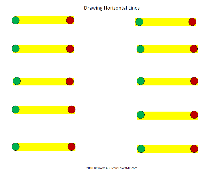 Horizontal Lines Worksheet | Pre writing, Learning to write ...