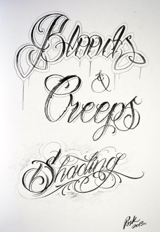 Posk Tattoo Tattoo Lettering Fonts Lettering Fonts Typography