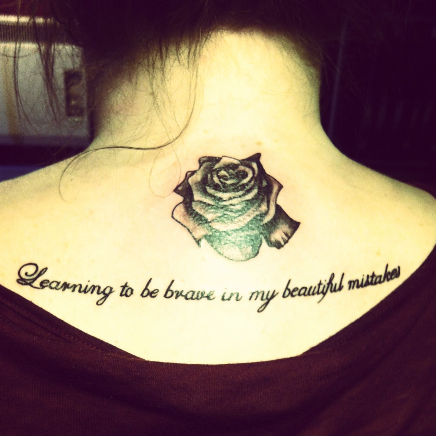 My new tattoo ) pink tattoo lyrics rose Lyric