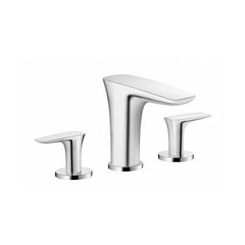 Hansgrohe 15073001 Puravida Widespread Faucet Chrome Master Bath