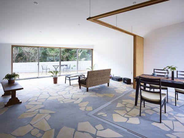 Unique Flooring Design by Kimihiko Okada Retail Pinterest