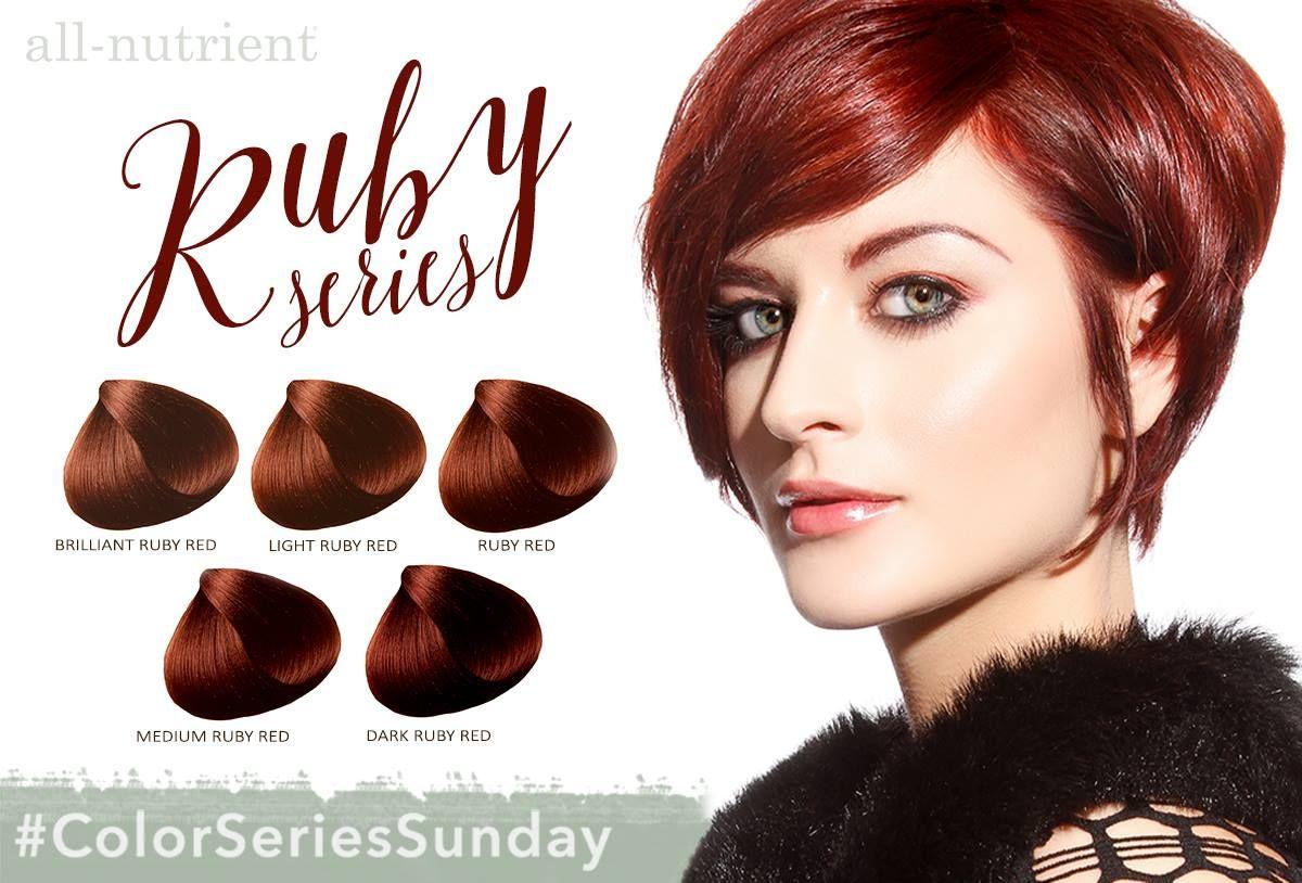 Ruby Allnutrient Haircolor Hair Color Chart Hair Color Hair Life