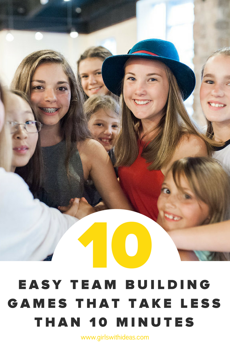 10 Easy Team Building Games That Take Less Than 10 Minutes Job