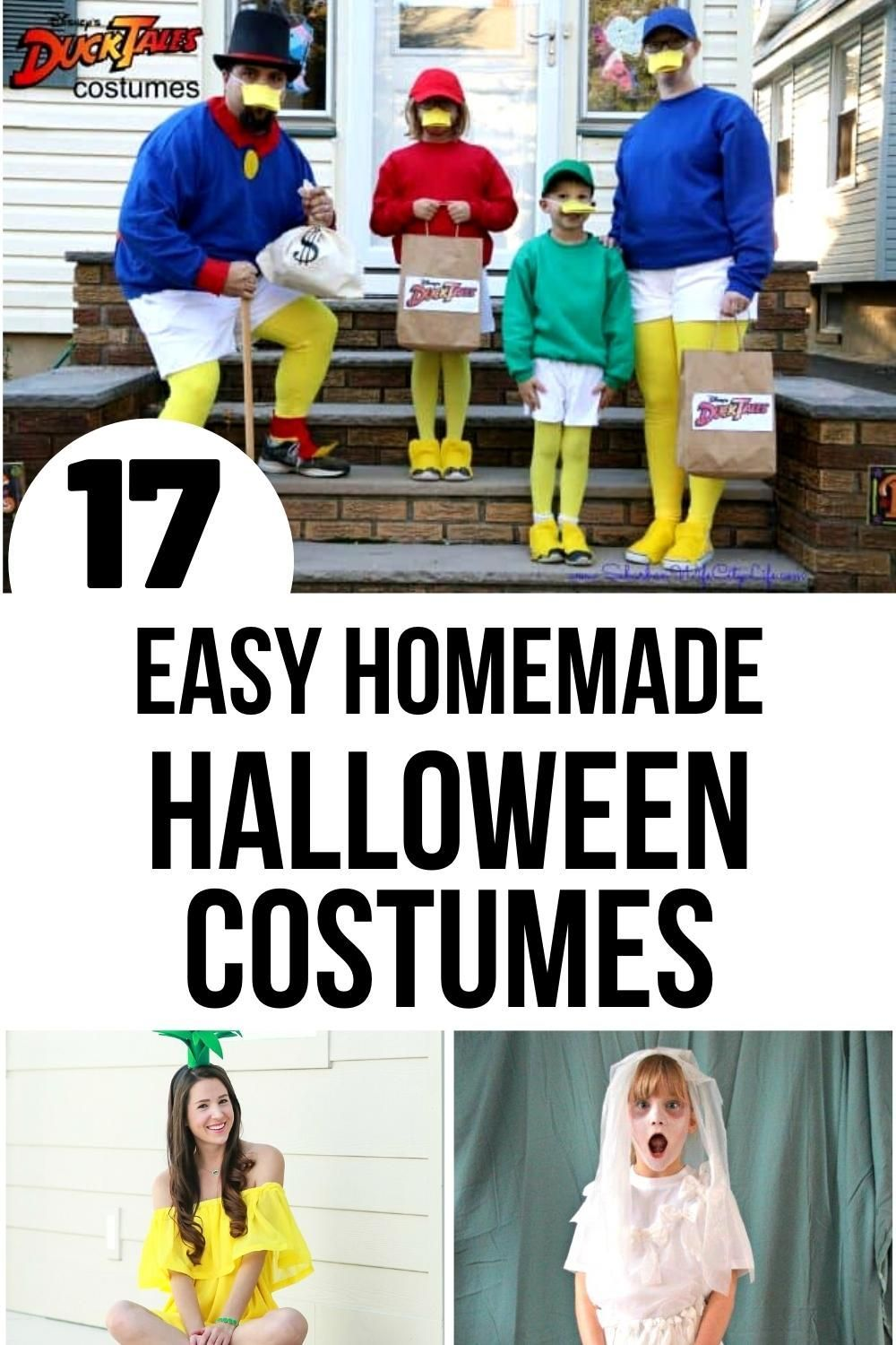 Diy Halloween Costumes For All Ages To Get Dressed Up And Celebrate Diy Halloween Costumes Homemade Halloween Costumes Easy Homemade Halloween Costumes