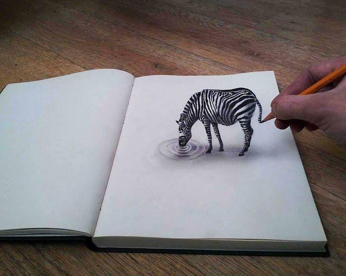 11 Asombrosos Dibujos A Lapiz Que Parecen Reales Dibujo De Ilusion Optica Como Dibujar En 3d Dibujos 3d