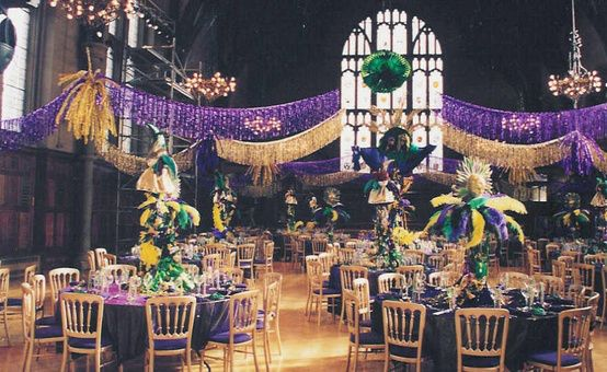 Mardi Gras Room Look