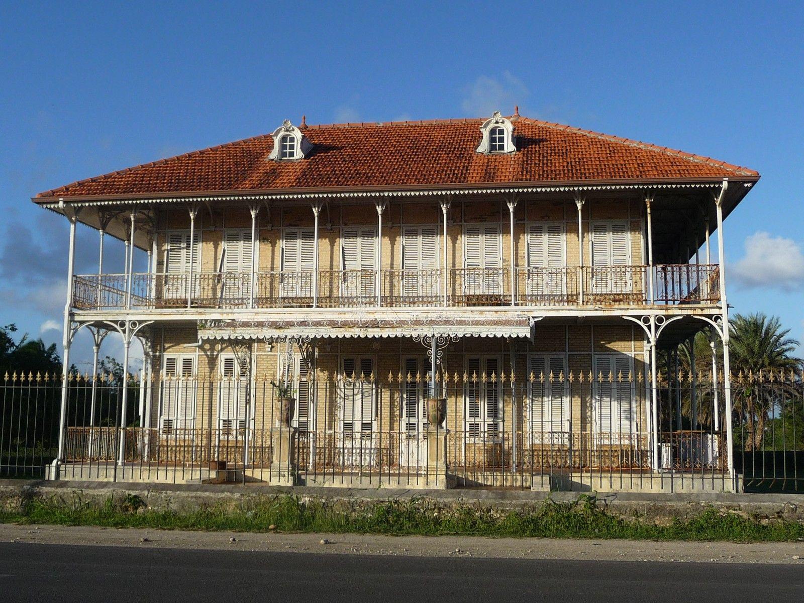 Maison Caloniale - Photos de vacances de Antilles Location #Guadeloupe   Maison coloniale ...