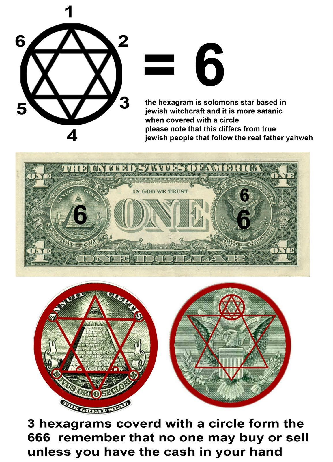 Hidden meaning symbolism of the dollar 666 mark of beast secret the capstone of the pyramid is symbolic of a 3 trinity of the antichrist false prophet and the beast s the symbolism of the seal of the pyramid represents buycottarizona