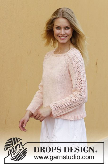 Photo of Early May Sweater / DROPS 187-22 – Kostenlose Strickanleitungen von DROPS Design