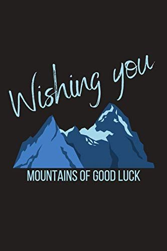 wishing you mountains of good luck farewell gift for bos