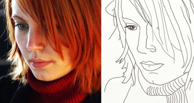 Contour Line Drawing Face : Line drawing 101: 5 essential tips for beginners contours