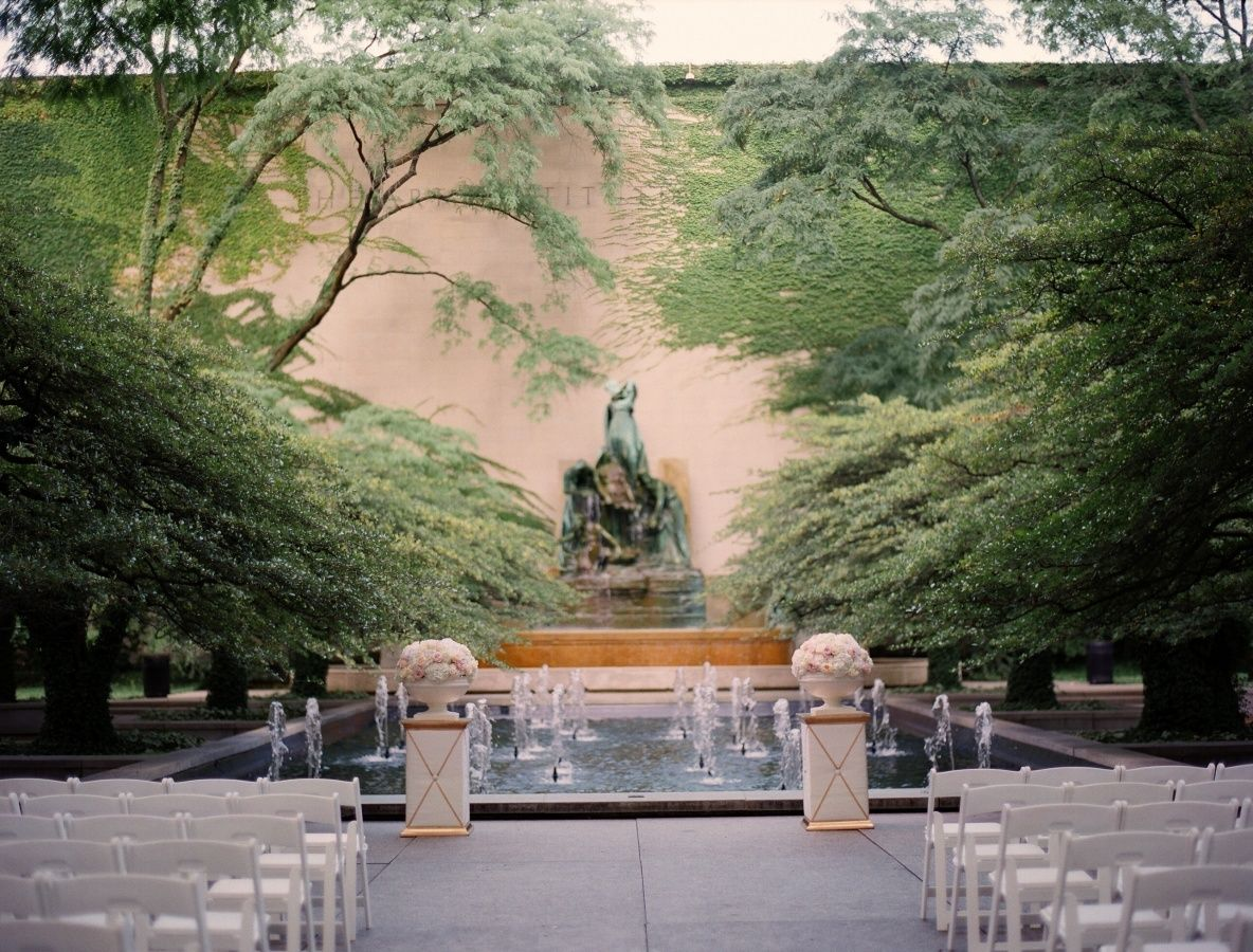 Fall Chicago Wedding at the Art Institute of Chicago Gallery - Style Me Pretty