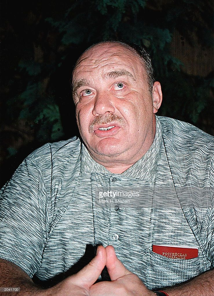 The alleged head of the Russian mafia, Semyon Mogilevich