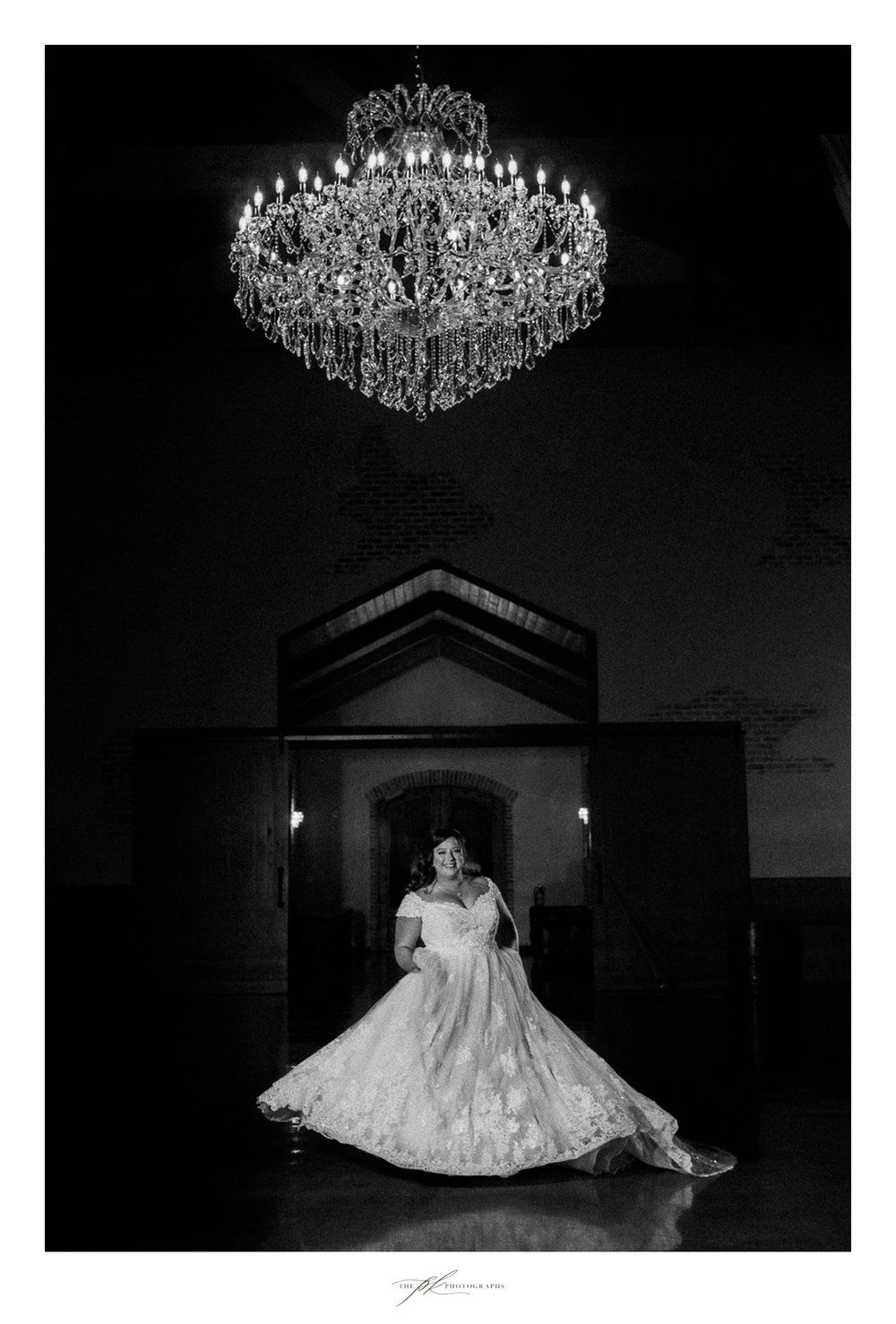 Emily's Bridal Portraits at The Chandelier of Gruene
