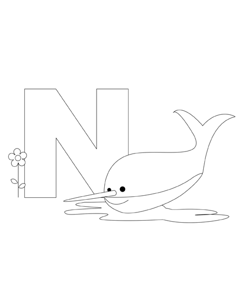Letter N is for Nurse Shark! | PRINTABLE ACTIVITIES ...