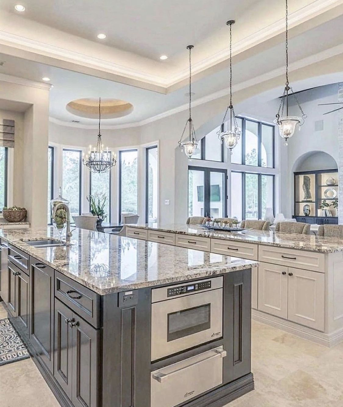 Pin By Kris Jans On Home Decor In 2020 Luxury Kitchen Design Dream Kitchens Design Luxury Kitchens