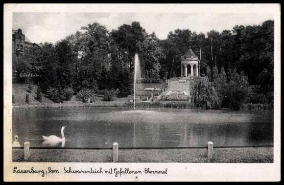 Lauenburg in Pommern, Park im. Bolesława Chrobrego