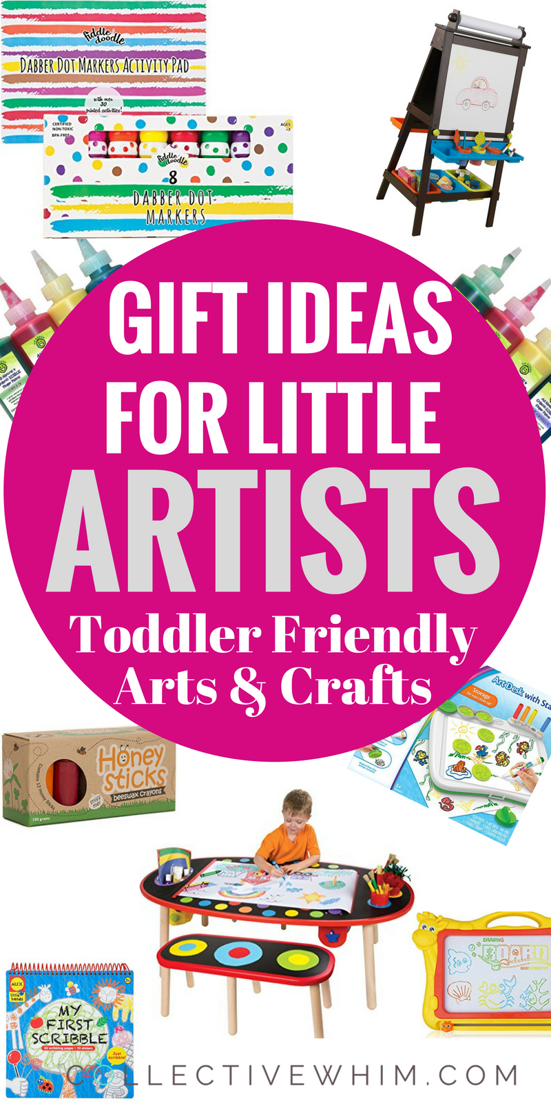 Gift Ideas For Toddlers (Little Artists, Arts & Crafts Gift Ideas ...