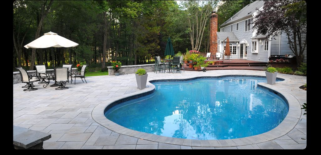 aquaBRIGHT™ Finished Backyard Pool Pool finishes, Pool