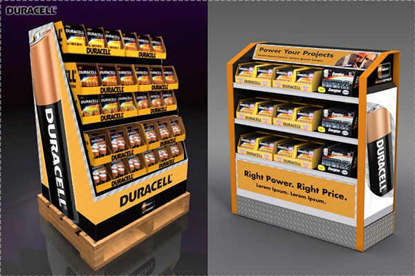the home depot 1  4 pallet and dual branded displays