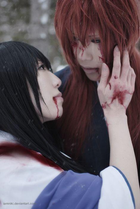 Yukishiro Tomoe and Rurouni Kenshin