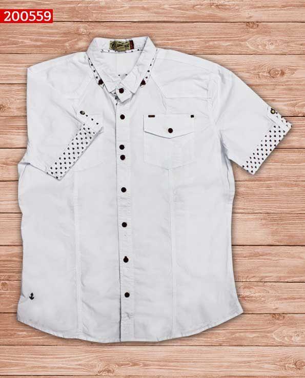 camisa-manga-corta-color-blanco-ref-200559-Mens Fashion  sexy  men  mens   fashion  neutral  casual  male  males  guy  guys  hot  hotlooks  grea…  d66236075888b