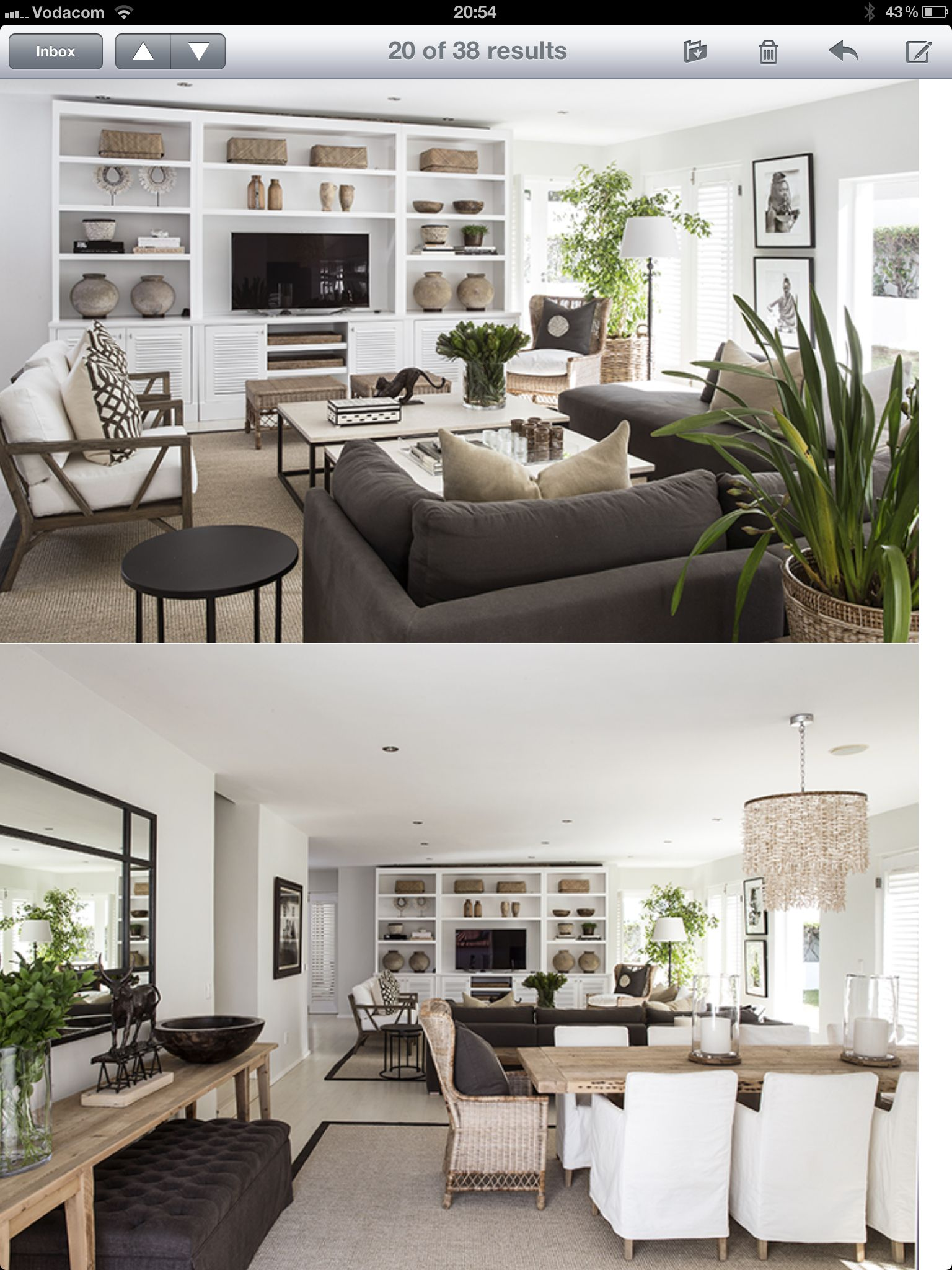 Interior Designed Living Rooms Fascinating Yvonne O'brien Interior Designliving Room Dining Room White Review