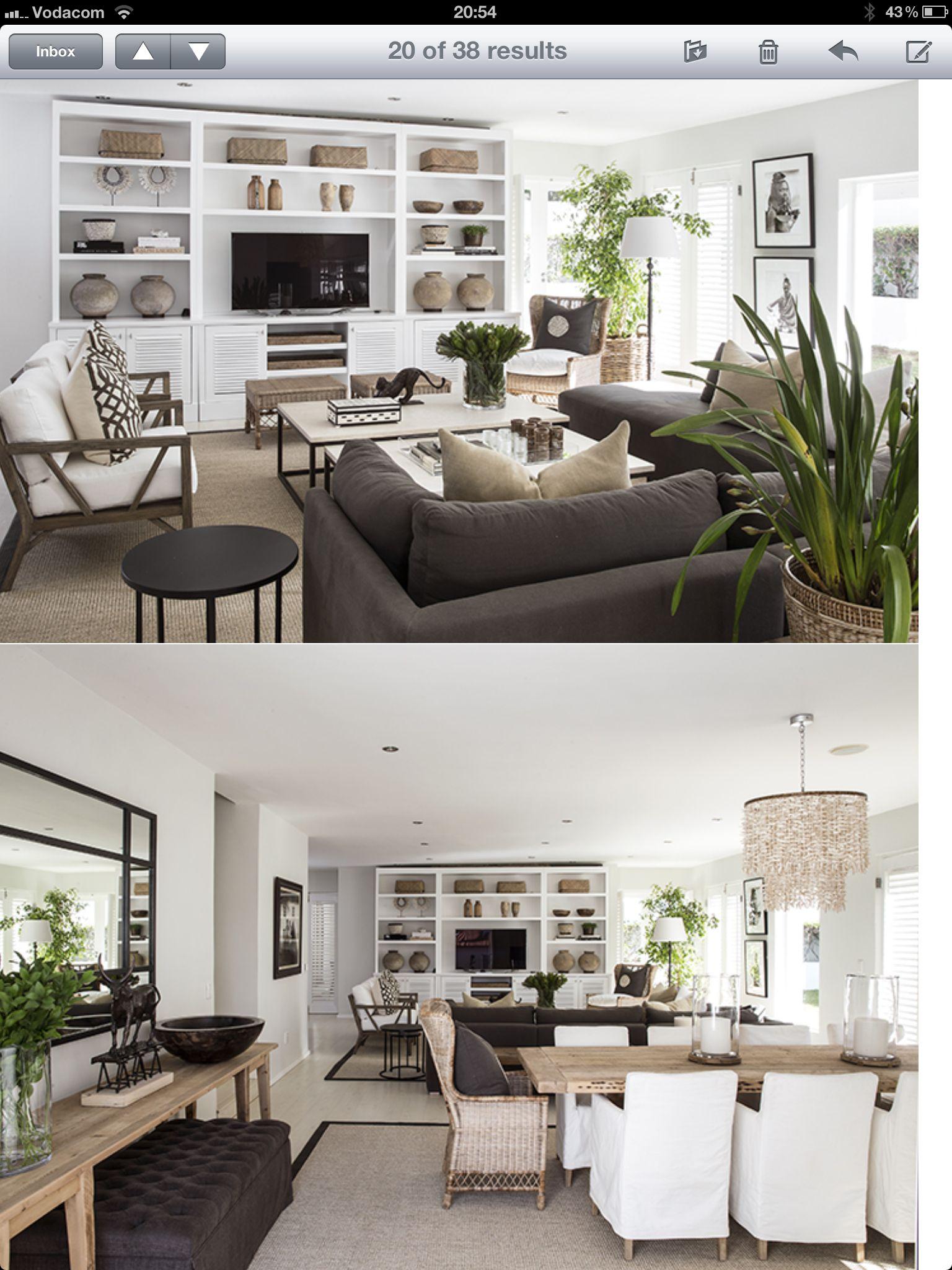 Interior Designed Living Rooms Yvonne O'brien Interior Designliving Room Dining Room White
