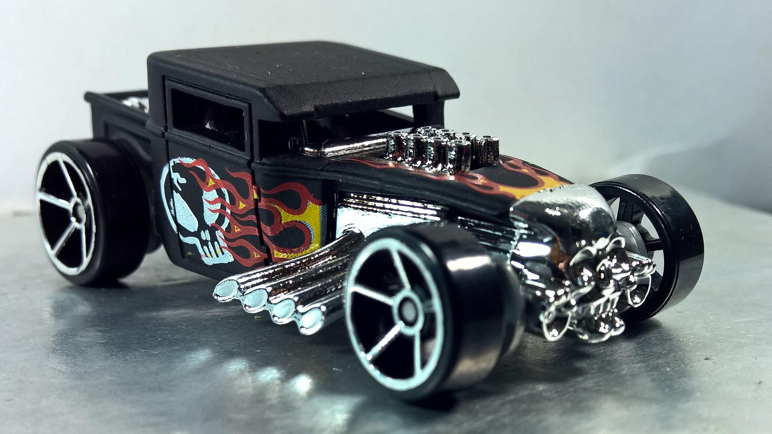 Bone Shaker Hw Daredevils 2017 6 Carros Brinquedos