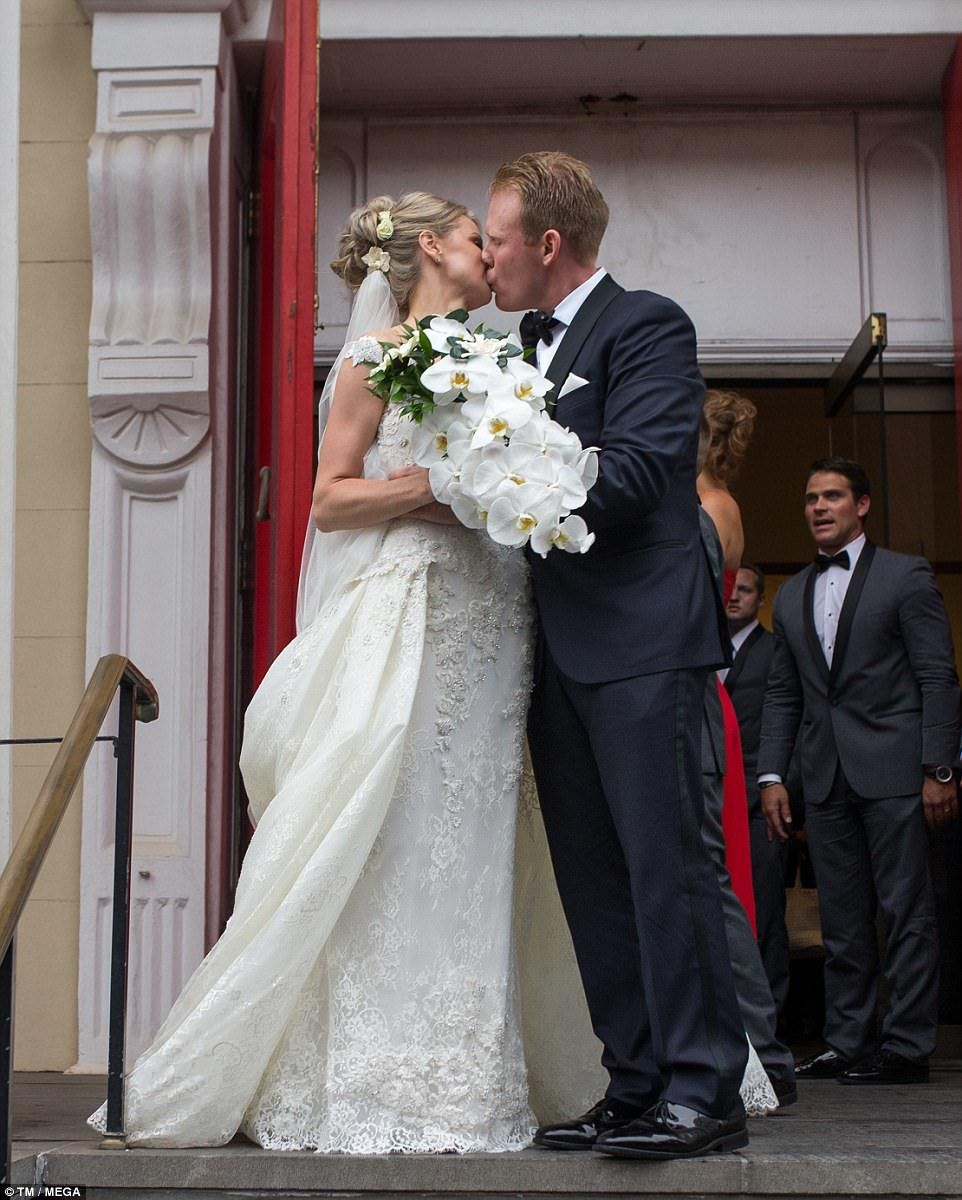 Andrew Giuliani Marries Lithuanian Born Real Estate Executive Married Wedding Dresses Wedding