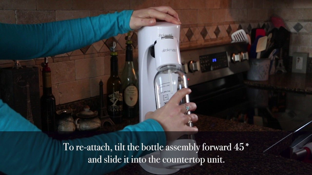 FAQ how to attach the Fizz Infuser on to Drinkmate