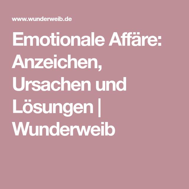 emotionale affäre anzeichen