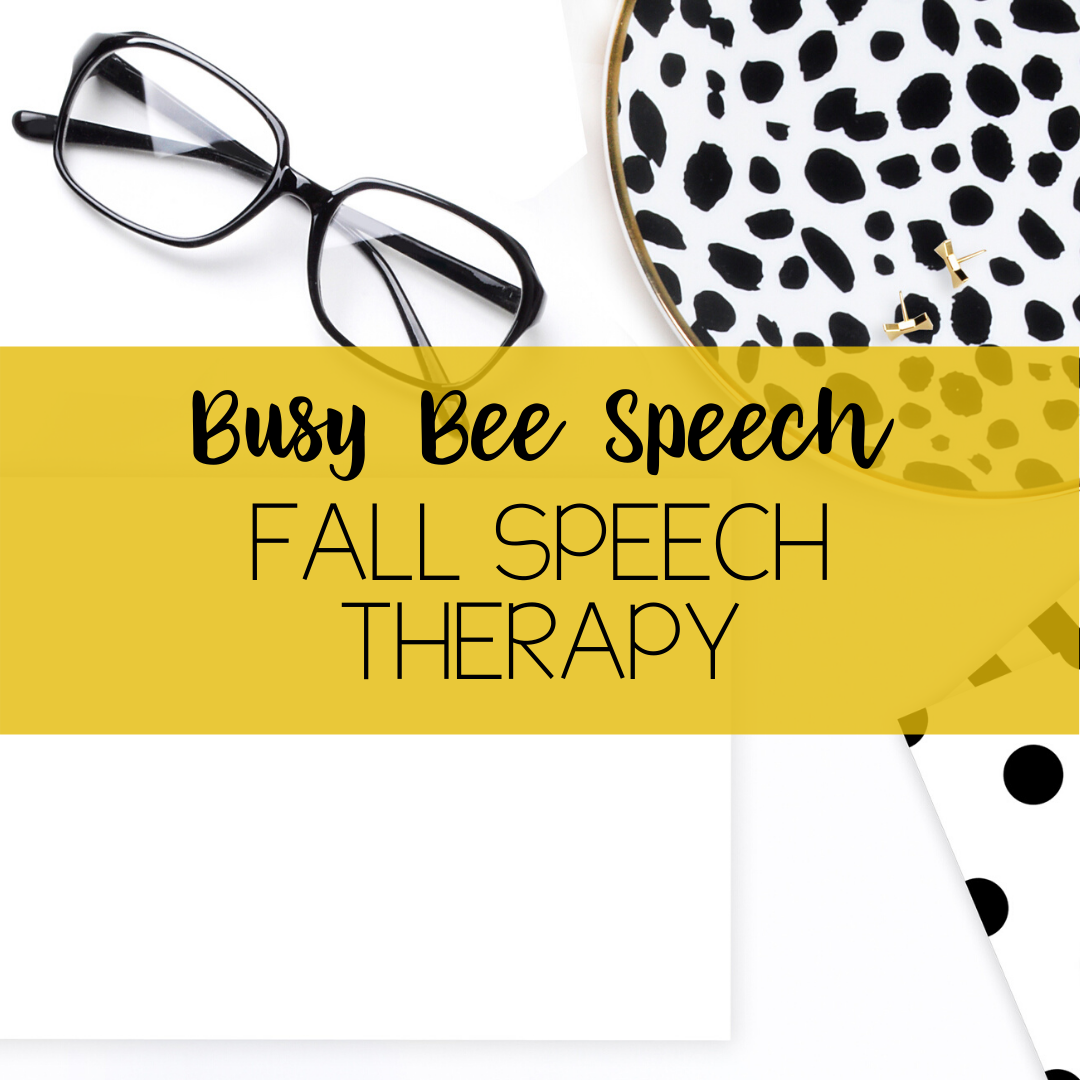 Fun And Engaging Fall Ideas And Resources For Speech