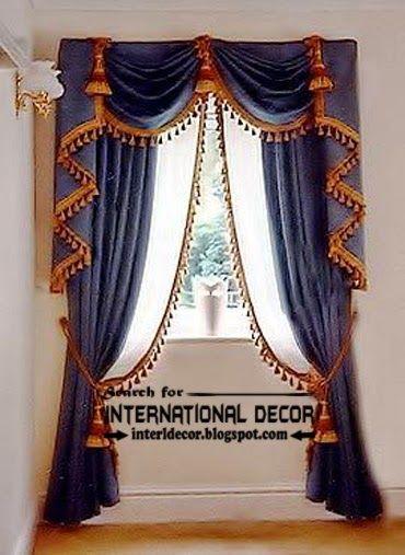 Best Modern Curtain Designs 2016 Ideas Colors Luxury Blue Curtains