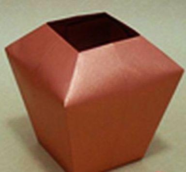 Vase Saburo Kase Origami Box Caixas Envelopes Cartoes E