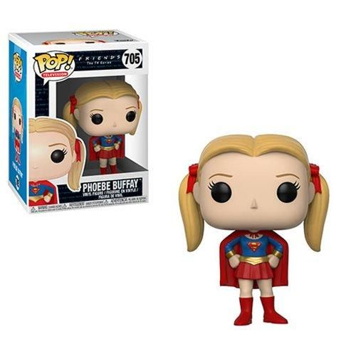 Funko Pop! 705 Pop Television - Friends - Phoebe Buffay as Supergirl