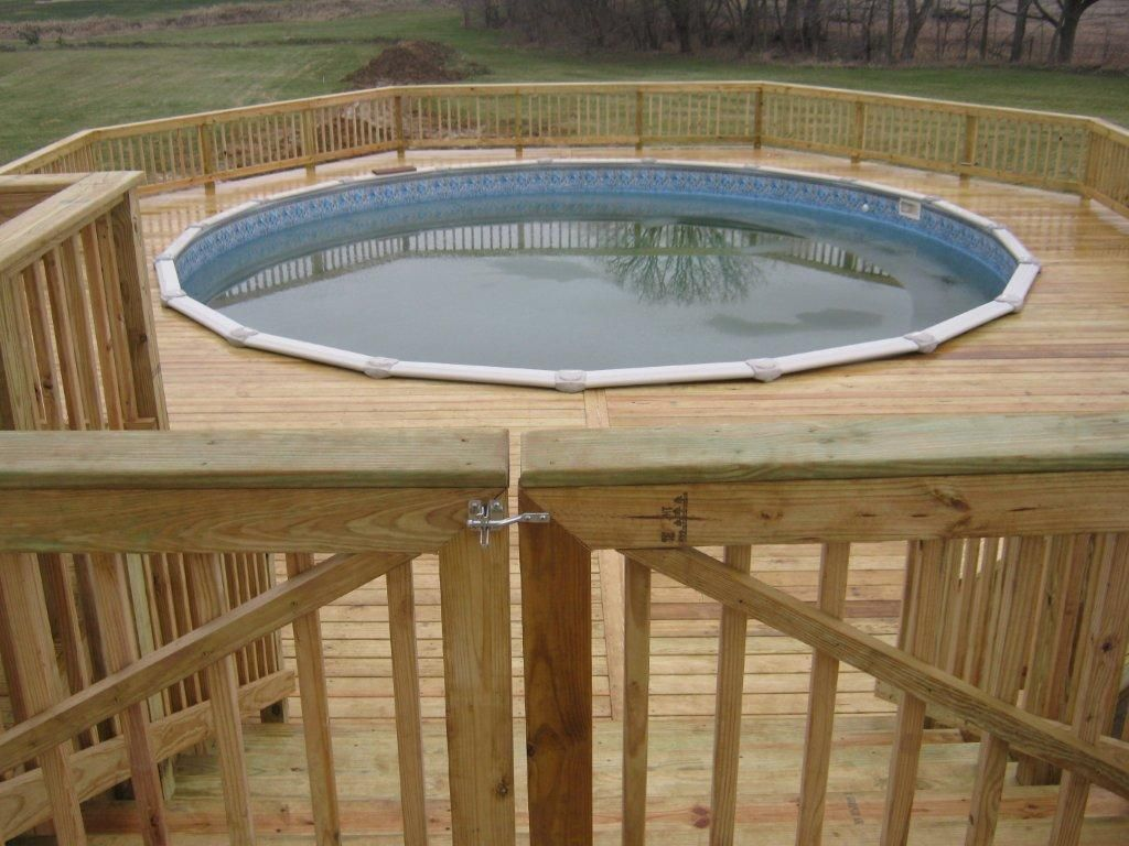 Have Archadeck Of Ft Wayne Build Your Pool Deck Above Ground
