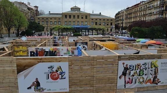 Unas 15.000 personas han visitado el «laberinto del reciclaje» en Donostia - Contenido seleccionado con la ayuda de http://r4s.to/r4s