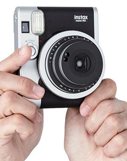 Amazon.com : Fujifilm Instax Mini 90 Neo Classic Instant Film Camera : Camera & Photo