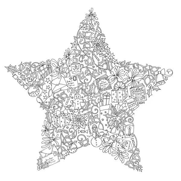 Christmas Colouring Free High Res Image Or