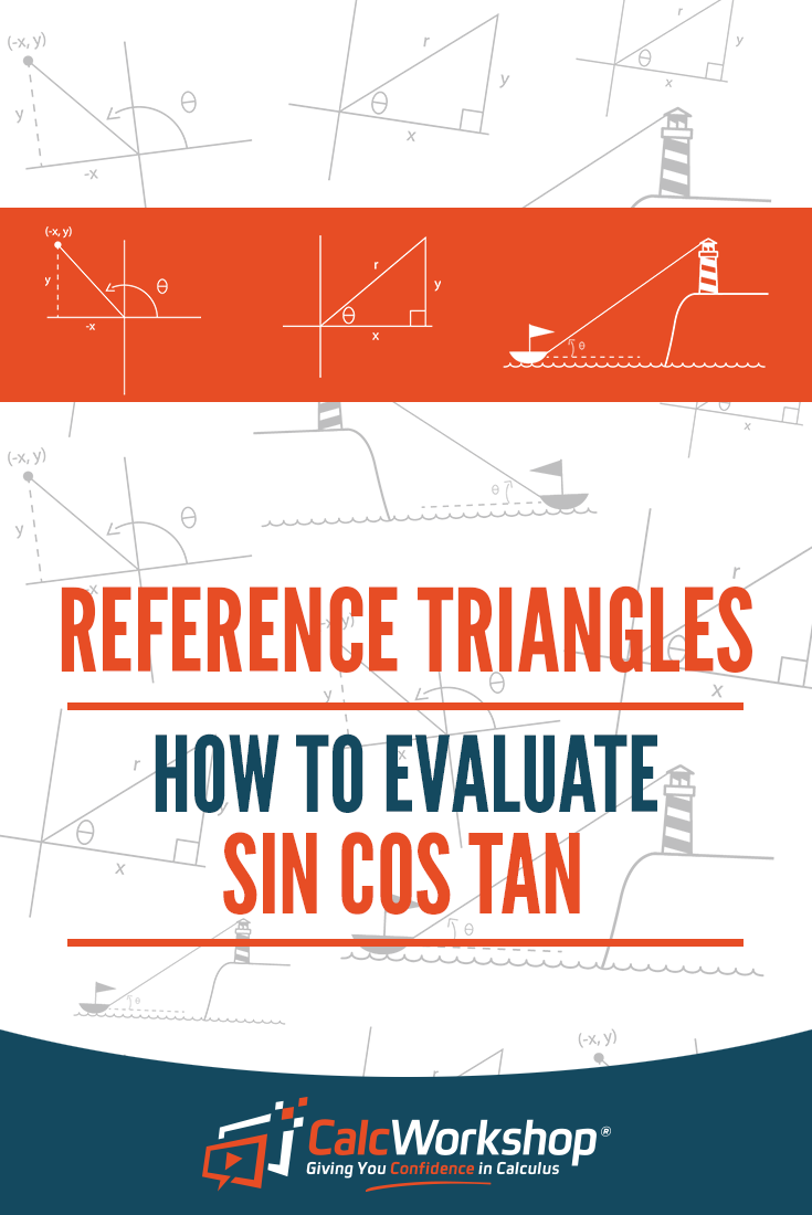 Reference Triangles  How To Evaluate Sin Cos Tan  Trigonometry