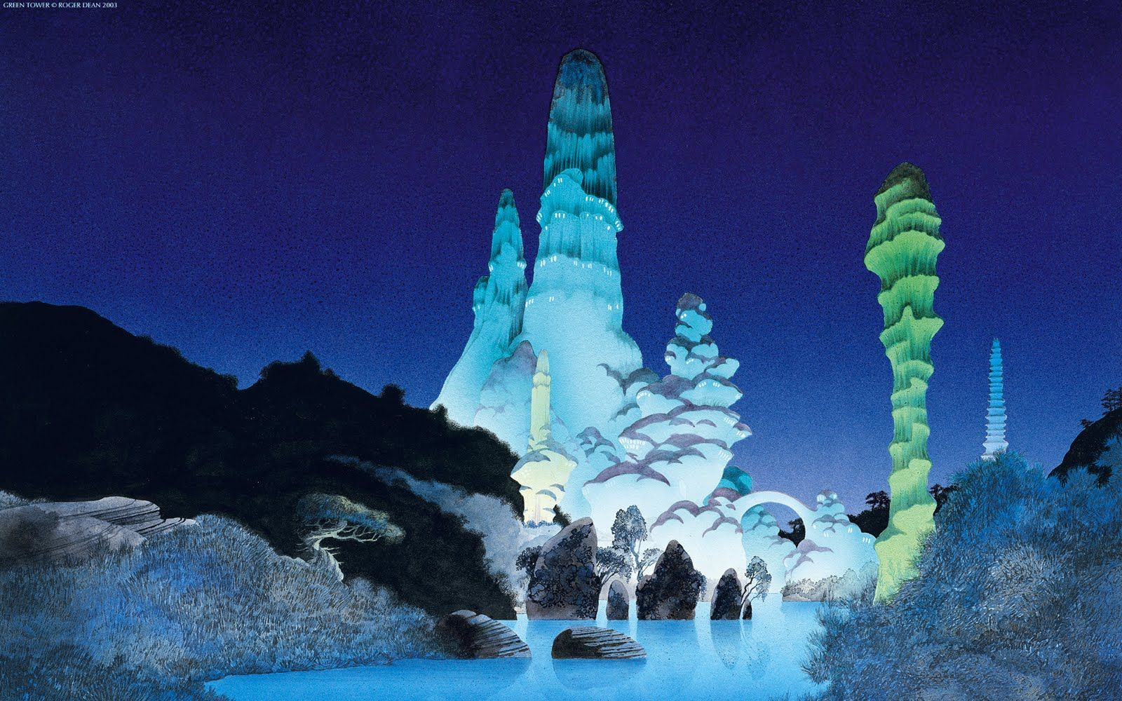 Roger Dean Art Wallpapers Roger Dean Art Roger Dean Dean 70s