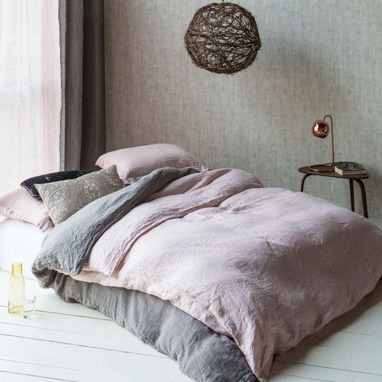 Bella Notte Duvet Cover Homespun Bed linens luxury
