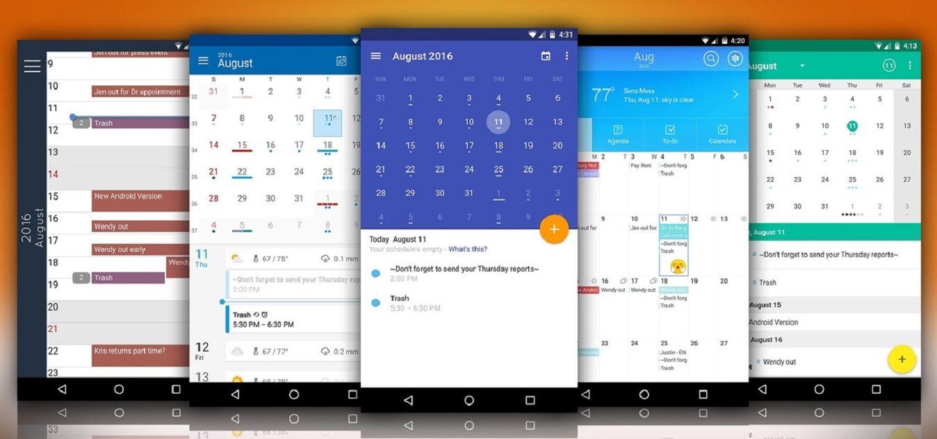 5 Best Calendar Apps For Windows 10 Android Calendar Calendar