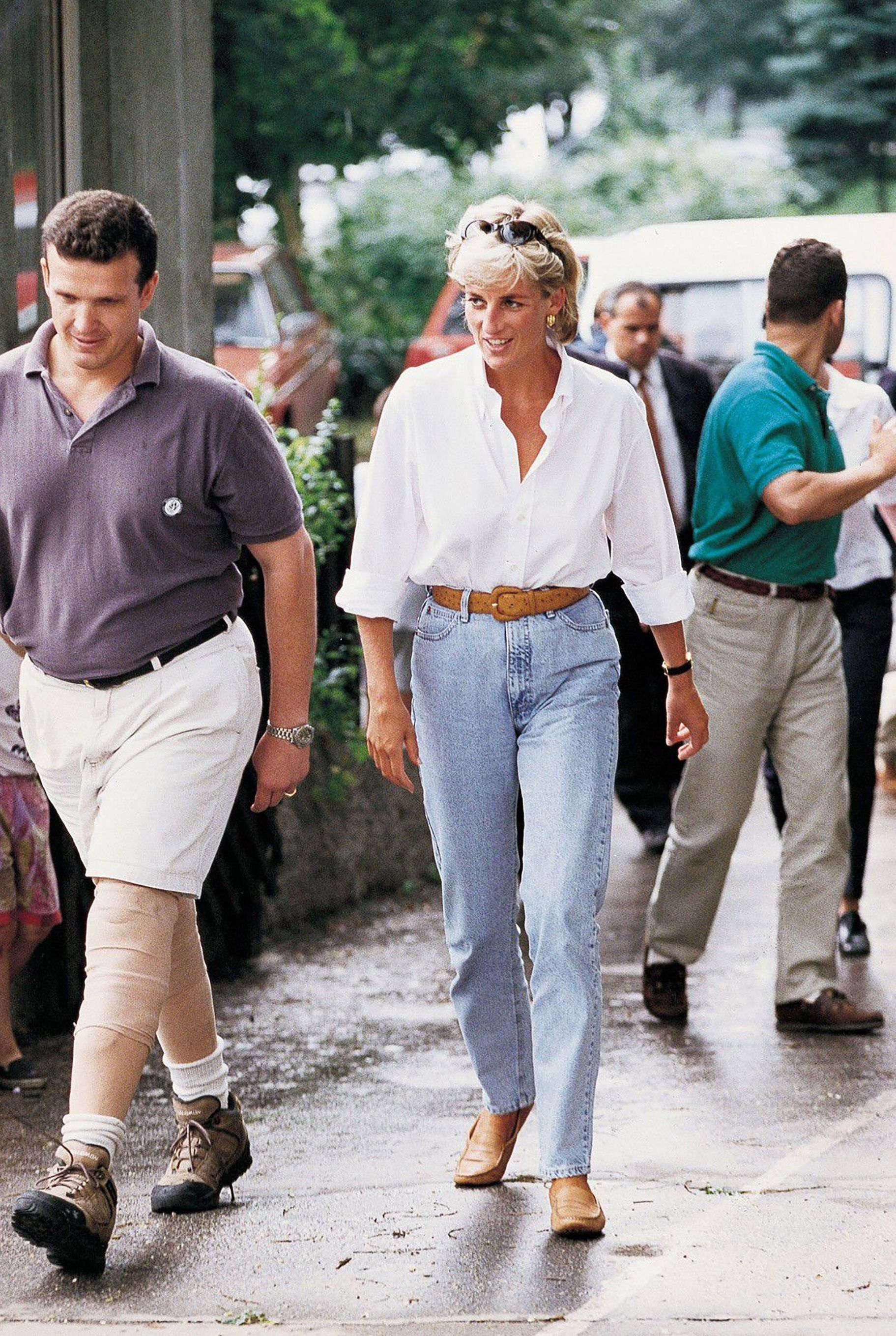 Princess Diana S Fashion Looking Back At Her Casual Denim Style