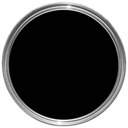 Fortress One Coat Matt Paint Black 2 5l Durable Paint Wood And Metal Black Paint